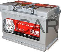 Fiamm Titanium Pro 74 Ah 680 A аккумулятор (-+, R)