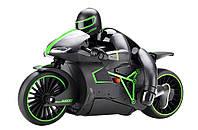 Мотоцикл на радиоуправлении 1к12 Crazon 333-MT01, зеленый - 139962