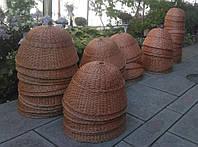 Люстры плетеные из лозы, фото 1