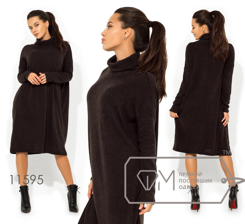 Платье-гольф цельнокроенное из ангоры софт 11595