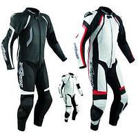 Мотокомбінезон для мотоцикла шкіряний SINTES Роздільний (A - PRO) Італія Стандарт СЕ