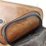 Мужской городской рюкзак на одно плечо мини стильный, фото 8