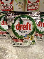 Гелевые капсулы для посудомоечных машин Dreft Platinum 22 шт