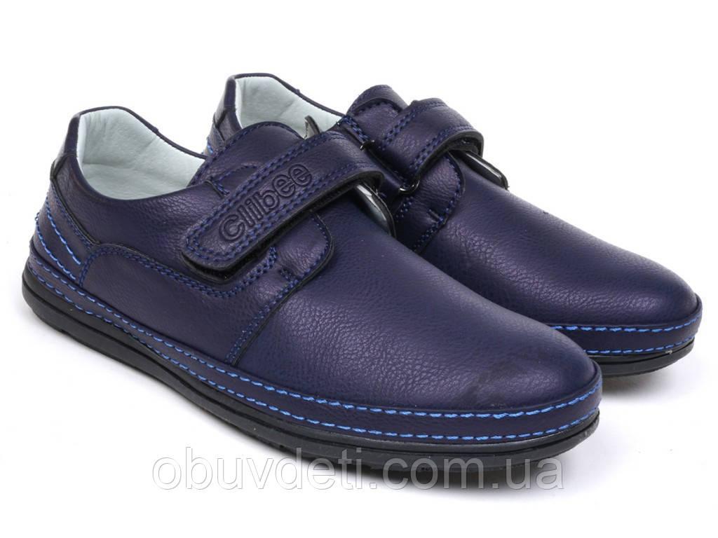 Качественные туфли повседневные 35 - 23,0 см для мальчика  Clibee
