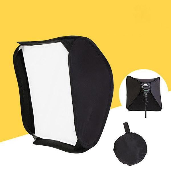 Софт-бокс для накамерных вспышек PHOTOLITE 60х60 см.