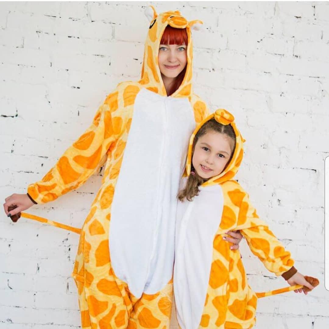 Кигуруми жираф (пижама взрослая) kcr0028