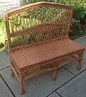 Лавка лавка плетена, фото 1