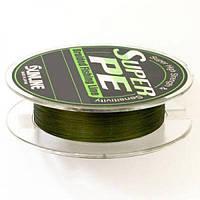 Шнур SunLine SuperPE т.зеленый 8LB (0,148мм 150м)