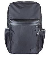 Рюкзак городской \ спортивный \ школьный чёрный Nealy T-3 Black Bag