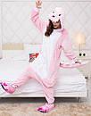 Кигуруми розовый дракон пижама kmu0064, фото 3