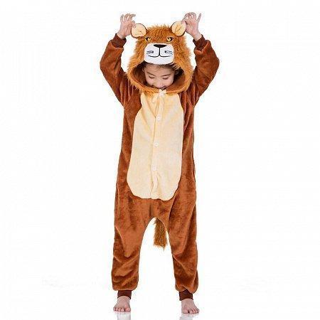 Кигуруми лев (детская пижама) kmu0096