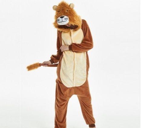 Кигуруми лев (взрослый) kmu0097