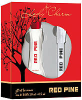 Женский набор Aroma Perfume Lady Charm Red Pine ( туалетная вода 30 мл + (ручка-спрей) туалетная вода 8.5 мл )