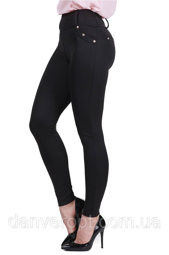 Лосины женские модные стильные с заклепками размер S-XL купить оптом со склада 7км Одесса