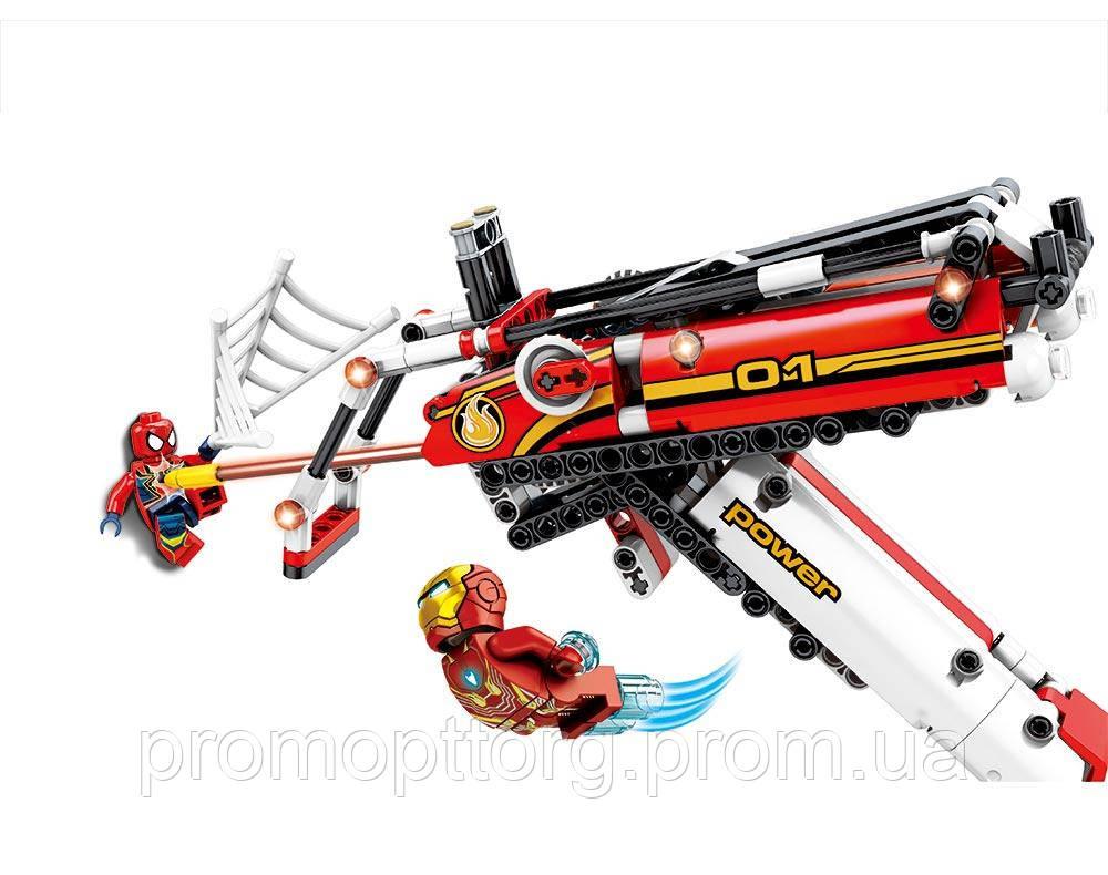 Конструктор JVToy 14007 Кіборгкоптер героя