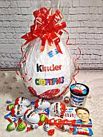 Подарочная коробка Большой киндер-сюрприз с киндерами и конфетами