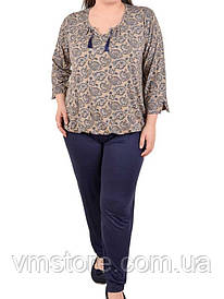 Пижама женская Nicoletta (ростовка 3 штуки) ,большие размеры