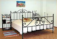 Наилучший вариант для спальни- двуспальные кованые кровати