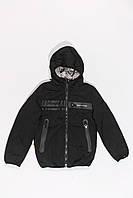Куртка двухсторонняя демисезонная для мальчиков от 6 до 10 лет