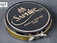 Паста для обуви Saphir Medaille D'or Pate De Luxe, цв.темно-зеленый(20), 100 мл