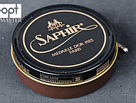 Паста для обуви Saphir Medaille D'or Pate De Luxe, цв.средне-коричневый (37), 100 мл