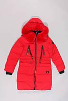 Пальто зимнее двустороннее для девочек Black&Red, фото 1