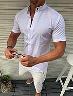 Мужская белая рубашка студентам и школьникам для повседневной носкиотличного качества