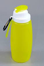 Складная спортивная бутылка из экологически чистого силикона 320 мл S3M, фото 3