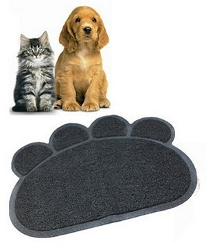 Коврик для питомца Paw Print Litter Mat   подстилка для домашних животных