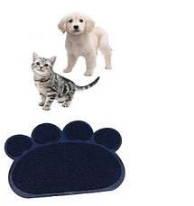 Коврик для питомца Paw Print Litter Mat   подстилка для домашних животных, фото 3
