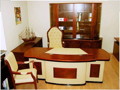 Стол руководителя Antares Бежевый (Диал ТМ), фото 2
