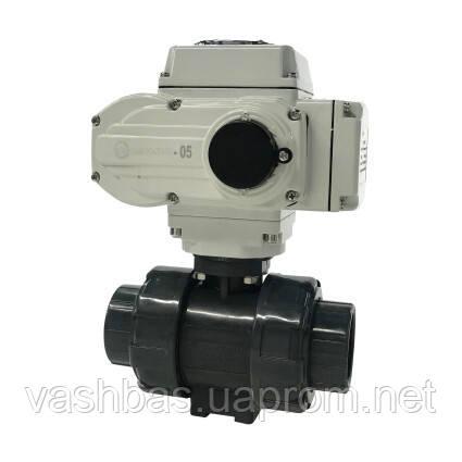 Aquaviva Кран кульовий з електроприводом Aquaviva d50 мм