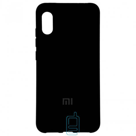 Чехол Silicone Case Full Xiaomi Mi 8 Pro черный, фото 2