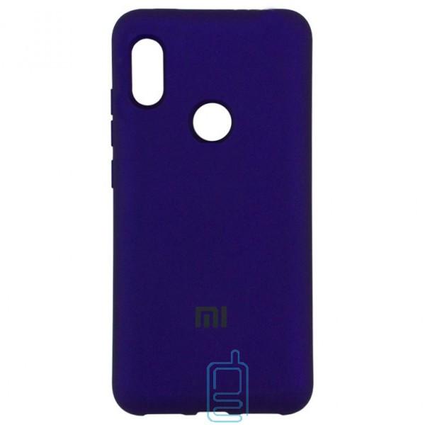Чехол Silicone Case Full Xiaomi Mi 8 SE фиолетовый