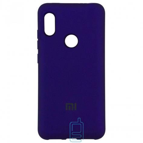 Чехол Silicone Case Full Xiaomi Mi 8 SE фиолетовый, фото 2