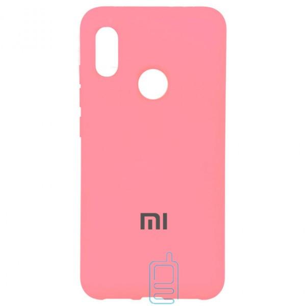 Чехол Silicone Case Full Xiaomi Redmi Note 5. Note 5 Pro розовый
