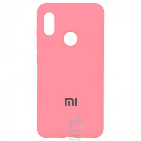 Чехол Silicone Case Full Xiaomi Redmi Note 5. Note 5 Pro розовый, фото 2