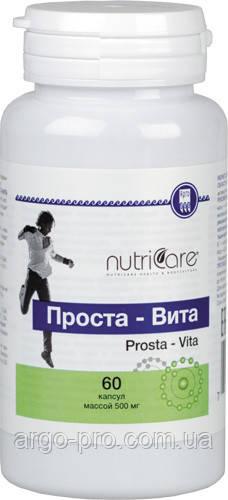 Проста-Вита США Арго (для мужчин, простатит, аденома простаты, селен, цинк, йод, витамин Е, повышает потенцию)