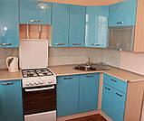 Угловая Кухня на заказ в стиле модерн, фото 3