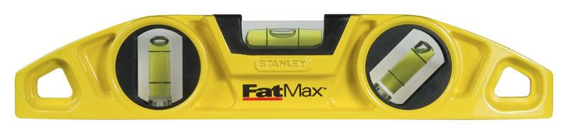 """Уровень  23см """"ТОРПЕДО"""" FatMax магнитный 3 капсулы  STANLEY 0-43-603"""