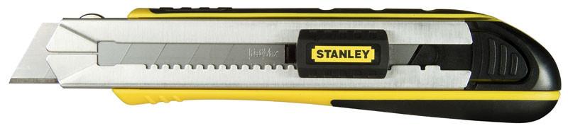 Нож 25мм сегментированое лезвие 215мм серия FatMax Cartridge картридж для 4 лезвий    STANLEY 0-10-4