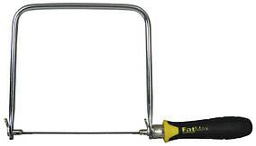 Лобзик FatMax с запасными пилками 160мм (глубина рамки 170мм)  STANLEY 0-15-106