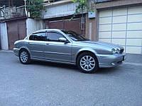 Дефлекторы окон (ветровики) Jaquar X-type 2001
