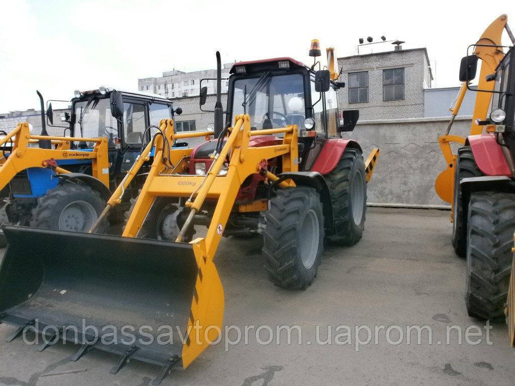 Новый экскаватор-погрузчик Амкодор 702ЕА-01 шасси Беларус-92П