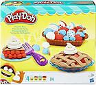 Набор для творчества Плей-До Праздничный пирог ягодные тарталетки Play-Doh Kitchen Creations Playful Pies, фото 4