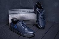 Кеды мужские кожаные ZG GO Man Blue spring , фото 1