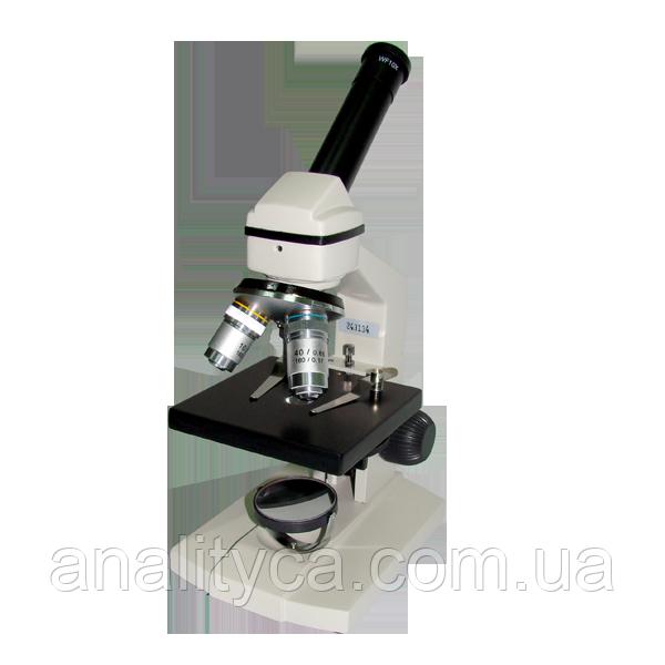 Мікроскоп монокулярний SME-F LED (4,10,40), Ulab
