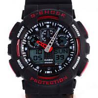 Чоловічий кварцевий наручний годинник Casio G-Shock GA100, фото 1