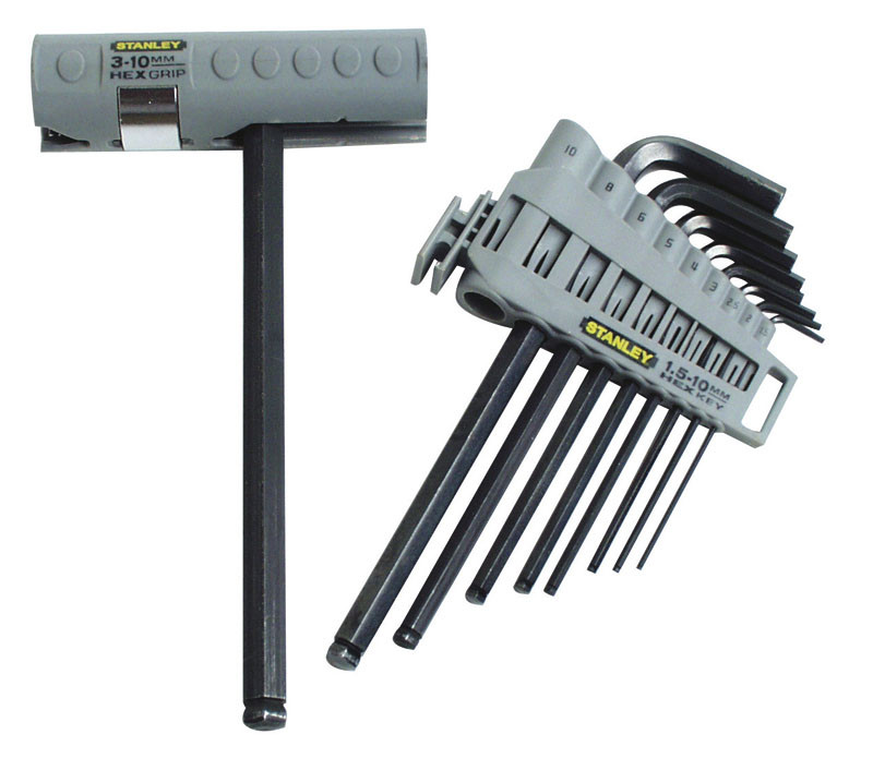 Набор ключей 6-ти гранн.  9 ед. 1.5-10 мм      STANLEY 0-89-904