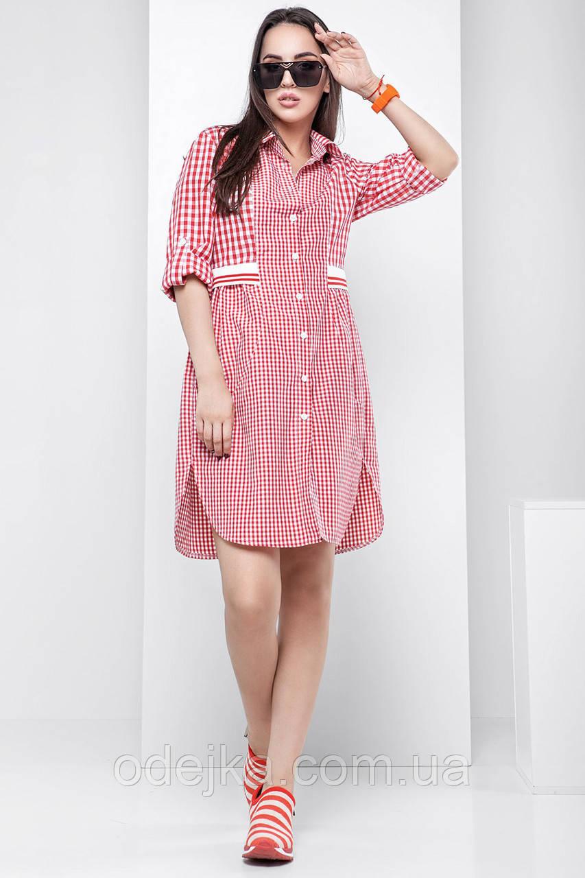 Платье рубашка Сара